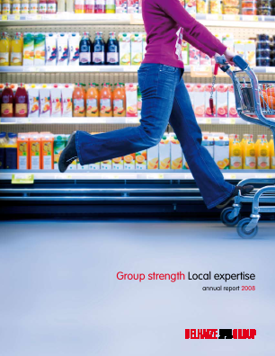 Delhaize Group annual report 2008