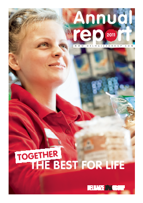 Delhaize Group annual report 2011
