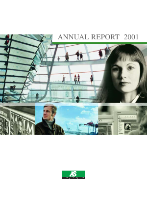 Axel Springer annual report 2001