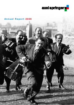 Axel Springer annual report 2006