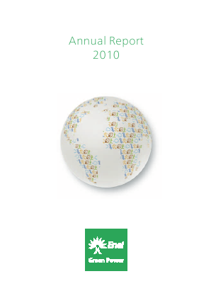 Enel Green Power annual report 2010