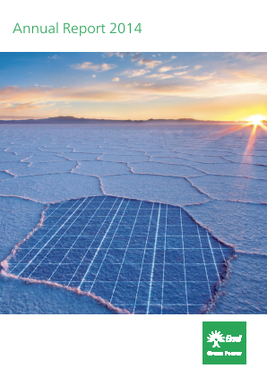 Enel Green Power annual report 2014