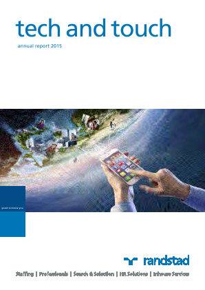 Randstad Holding annual report 2015