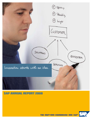 SAP annual report 2008