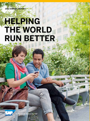 SAP annual report 2012