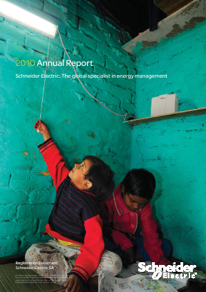 Schneider Electric annual report 2011
