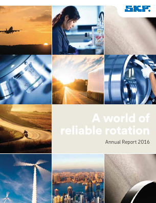 SKF annual report 2016
