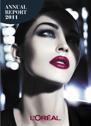 L'Oreal annual report 2011