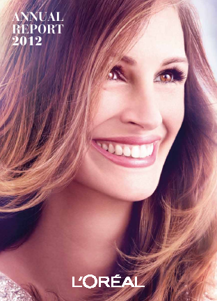 L'Oreal annual report 2012