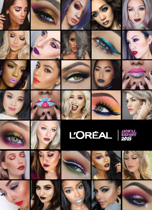 L'Oreal annual report 2015