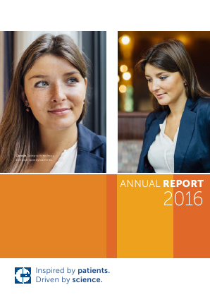 UCB annual report 2016