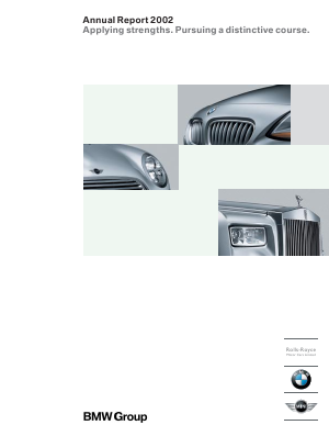 BMW annual report 2002