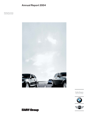 BMW annual report 2004