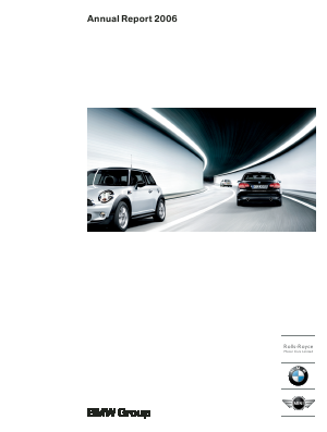 BMW annual report 2006