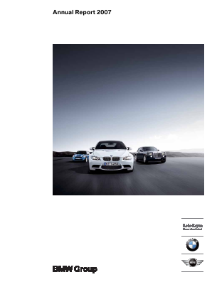 BMW annual report 2007