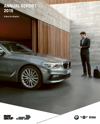 BMW annual report 2016