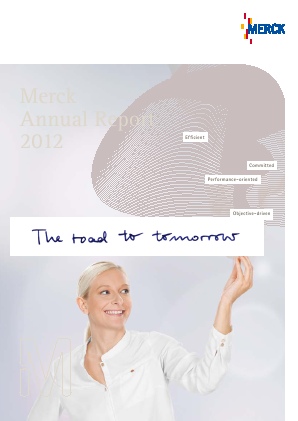 Merck Kgaa annual report 2012