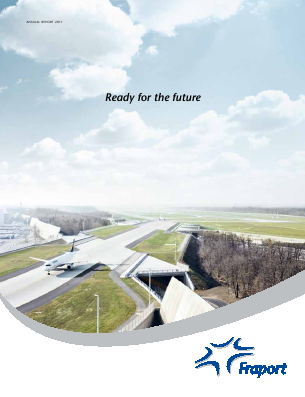 Fraport Frankfurt Airport Services annual report 2011