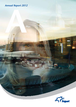 Fraport Frankfurt Airport Services annual report 2012