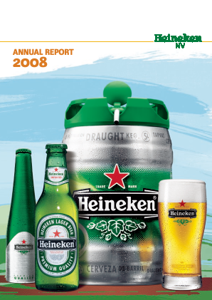 Heineken annual report 2008