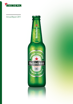 Heineken annual report 2011