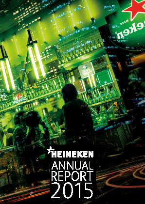 Heineken annual report 2015