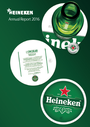Heineken annual report 2016