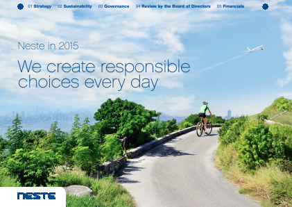 Neste Oil annual report 2015