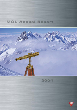 Mol Group annual report 2004