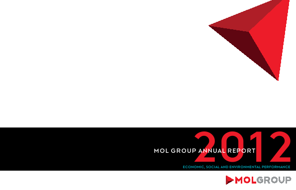 Mol Group annual report 2012