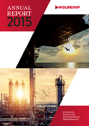 Mol Group annual report 2015