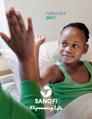 Sanofi annual report 2017