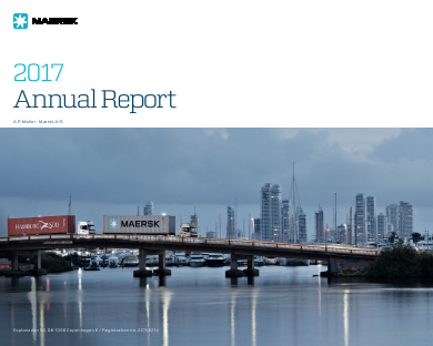 A P Moller - Maersk annual report 2017