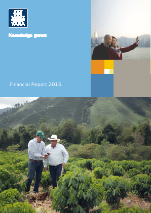 Yara International annual report 2015