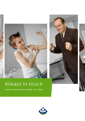 KPN annual report 2004