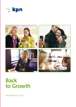 KPN annual report 2008
