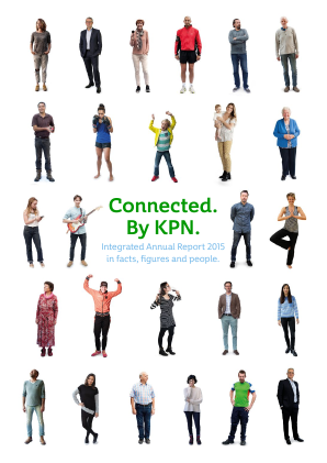 KPN annual report 2015