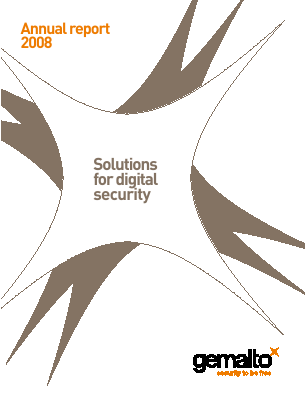 Gemalto annual report 2008