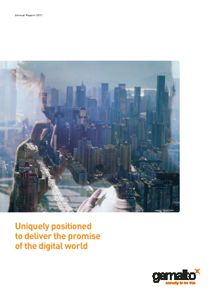 Gemalto annual report 2011