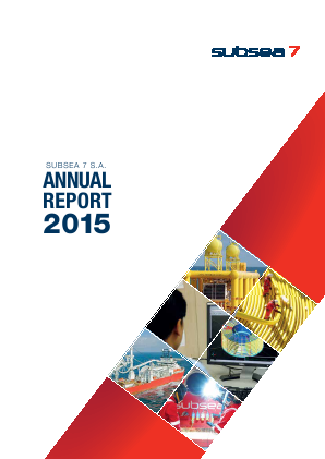 Subsea 7 annual report 2015