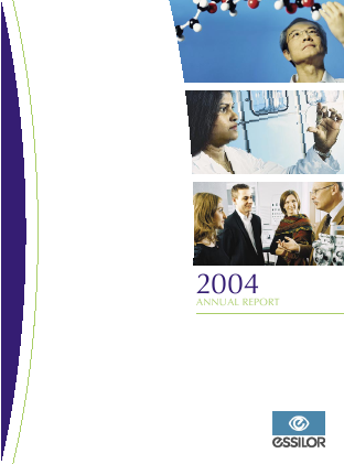 Essilor International annual report 2004