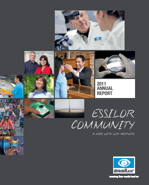 Essilor International annual report 2011