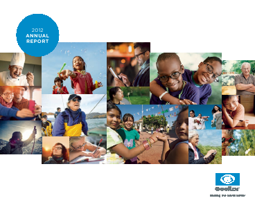 Essilor International annual report 2012