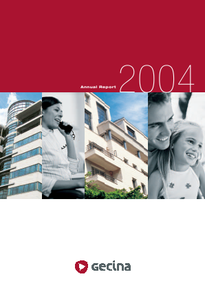 Gecina annual report 2004