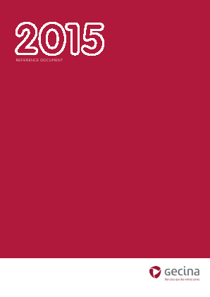 Gecina annual report 2015