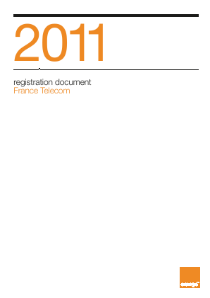 Orange annual report 2011