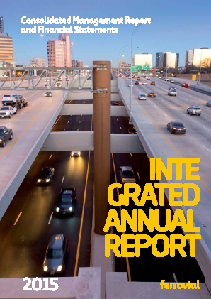 Ferrovial annual report 2015