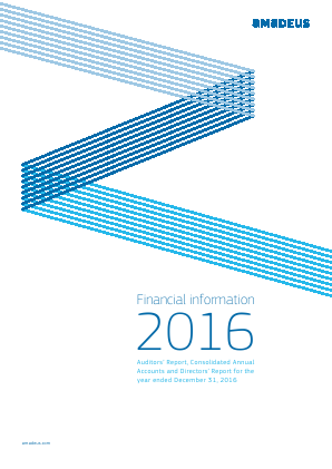 Amadeus IT annual report 2016