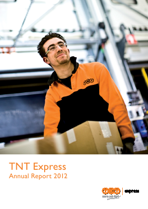 TNT Express annual report 2012