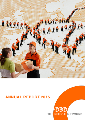 TNT Express annual report 2015